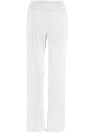 Pantalone ampio in crêpe