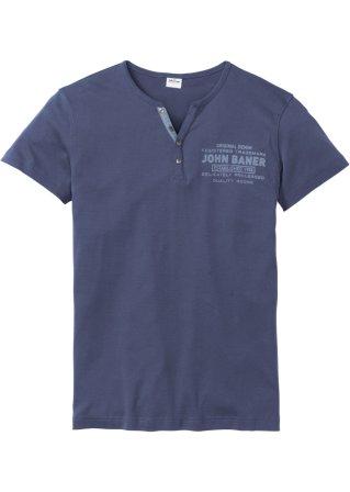 T-shirt con bottoncini slim fit