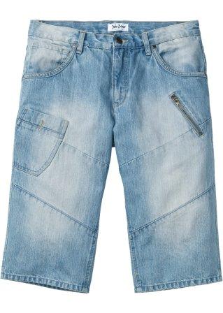 Bermuda di jeans lungo regular fit