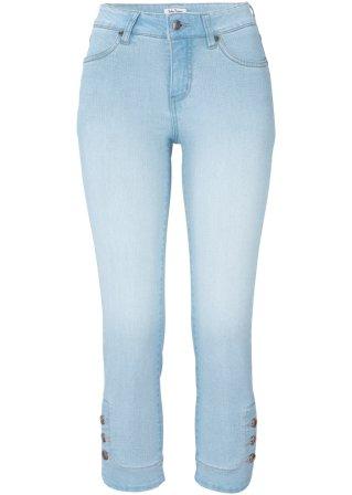 Jeans elasticizzato con bottoni SLIM