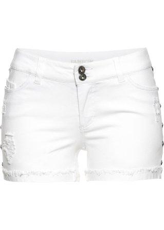 Alta moda Shorts con strass