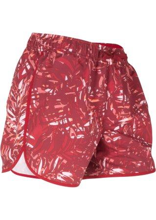 Pantaloncino per lo sport in microfibra fantasia