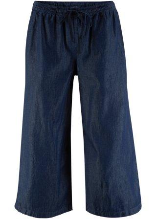 Jeans ampio con elastico