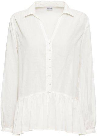 Nuovo stile Blusa in cotone leggero