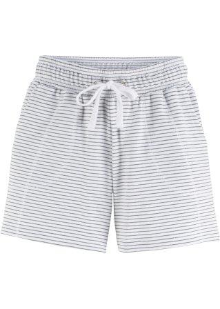 Pantaloncino in felpa a righe