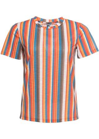 Attraente T-shirt a righe