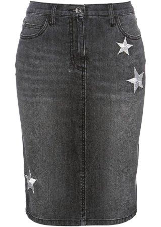 Gonna di jeans con stelle