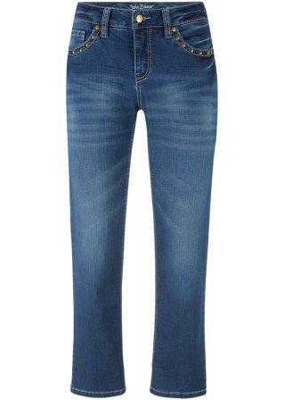Jeans alla caviglia ultra elasticizzato STRAIGHT