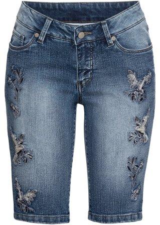 Bermuda di jeans