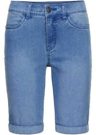 Perfetto Bermuda in jeans elasticizzato