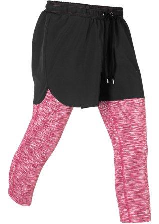 Leggings sportivi 2 in 1