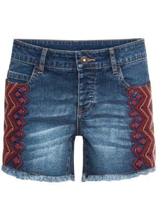 Shorts ricamati