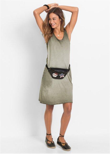 Abito di jersey Verde oliva washed - Donna - bonprix.it 4XFg0mSN