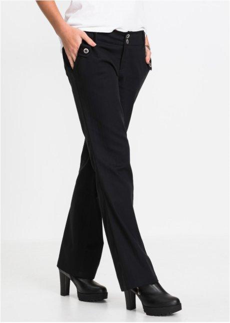 Pantaloni eleganti gessati bootcut Nero a righe - RAINBOW - bonprix.it gnpr9wtj