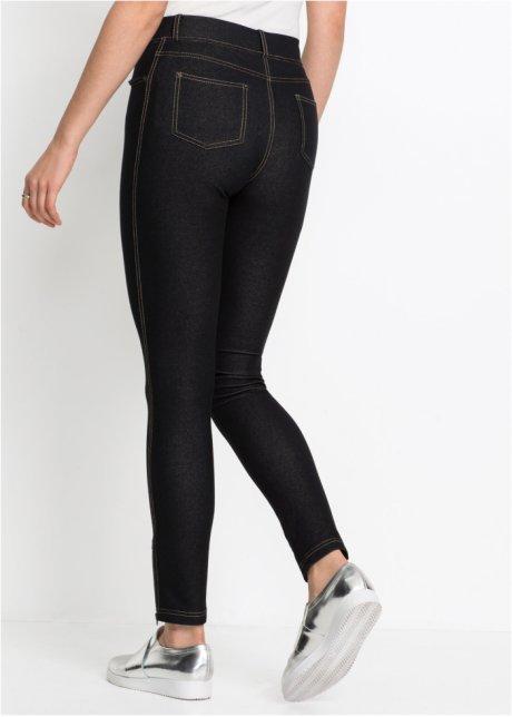 Leggings effetto jeans con cerniere Nero stone - RAINBOW acquista online - bonprix.it mni3RTJH
