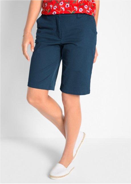 Bermuda elasticizzati leggeri con cinta elastica confortevole - Blu scuro 0jhBxDnI