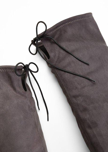 Stivali cuissard per uno stile deciso - Antracite 5w0803WS