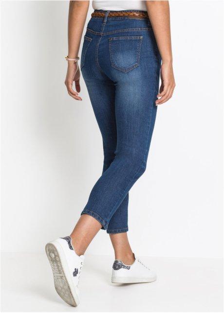 Jeans cropped elasticizzati basic dalla vestibilità confortevole - Blu T.N. XUTYAohK