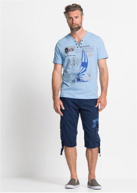 T-shirt 2 in 1 con stampa marinara - Azzurro cFwUPzMY