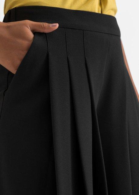 Gonna pantalone ampia con pinces - Nero dLlbC8HW