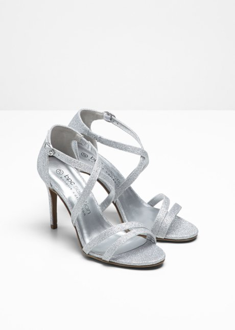 Sandali con fascette sottili - Argento FmA3XZwp