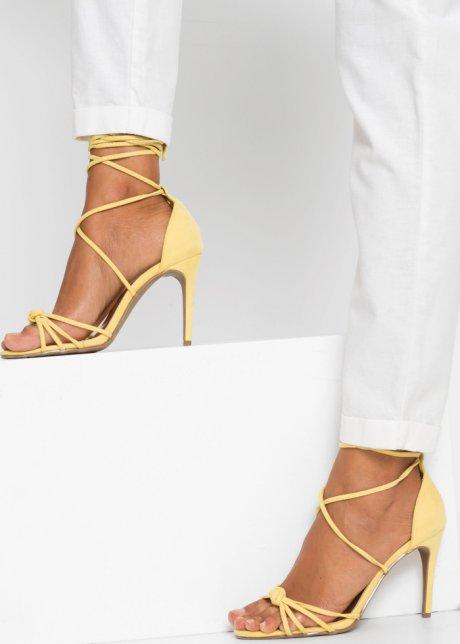 Pantaloni eleganti con elastico - Bianco B5ItYCNJ