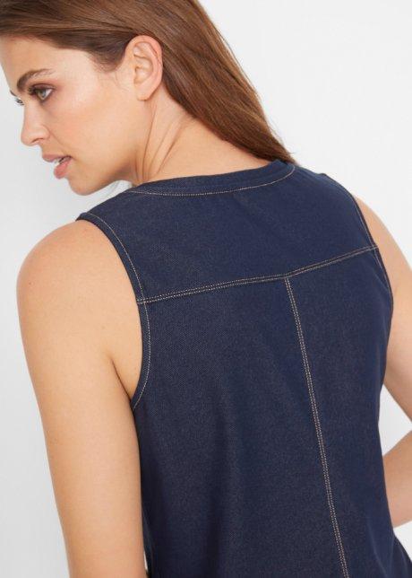 Abito in maglina effetto jeans Blu - Donna - bonprix.it 4XfR2zqL