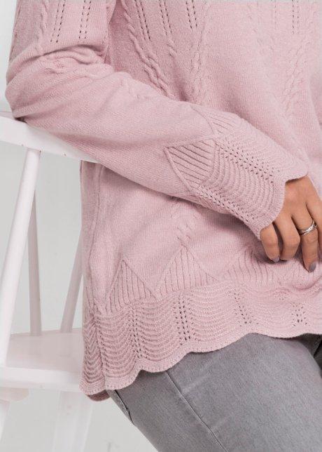 Maglione traforato Rosa - BODYFLIRT acquista online - bonprix.it yQxA2s3B