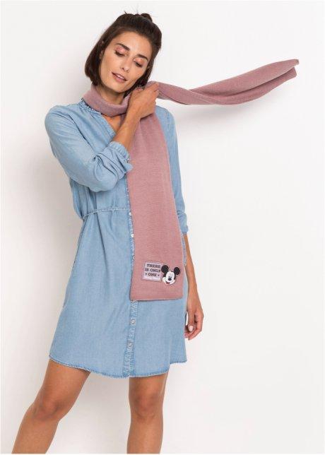 Graziosa sciarpa Disney con ricamo di Mickey Mouse - Rosa Qs6eqwOw