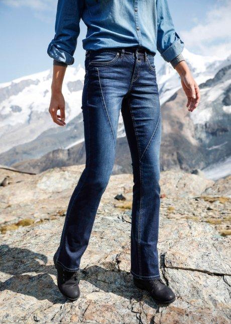 Jeans elasticizzati BOOTCUT Blu scuro - Donna - John Baner JEANSWEAR - bonprix.it LdNjGCOU