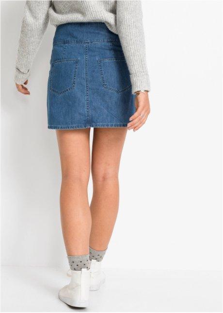 Gonna di jeans con stringatura Blu stone - RAINBOW ordina online - bonprix.it 6REIzOhj