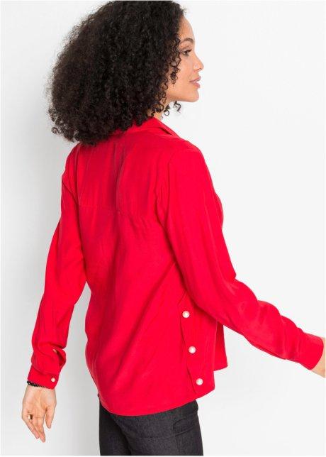 Camicetta con perle Rosso - BODYFLIRT ordina online - bonprix.it E8lUEfjq