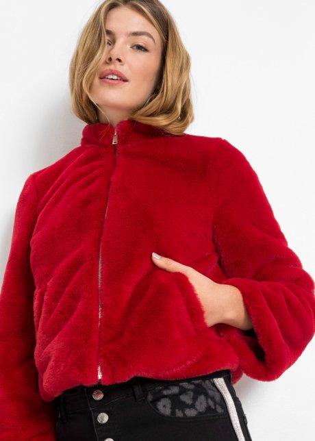 Pelliccia sintetica corta Rosso - RAINBOW - bonprix.it GmFTwodh