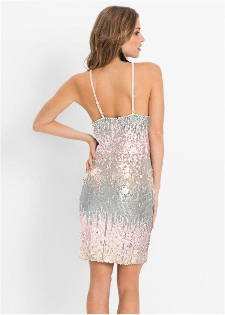 Abito elegante con paillettes Rosa chiaro / verdino - BODYFLIRT boutique acquista online - bonprix.it biMzngVB