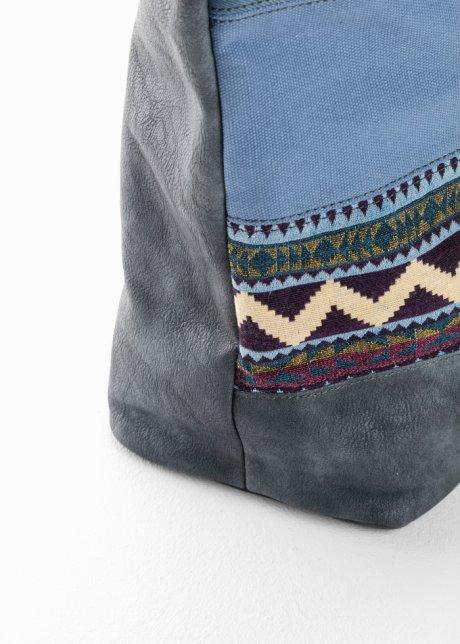 Borsa shopper in denim stile etnico Blu jeans - bpc bonprix collection - bonprix.it BvScMv9M