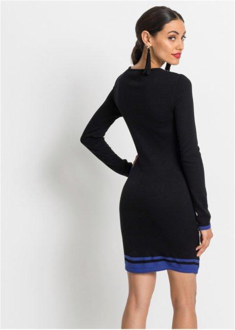 Abito in maglia pied de poule Nero / bianco fantasia - BODYFLIRT boutique acquista online - bonprix.it naWB0zwZ