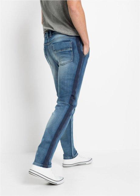 Jeans in felpa regular fit tapered Blu bleached - RAINBOW ordina online - bonprix.it KSEuhc54