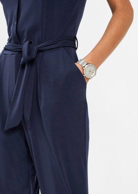 Tuta elegante Blu scuro - Donna - bpc selection premium - bonprix.it ZgOXT6f9