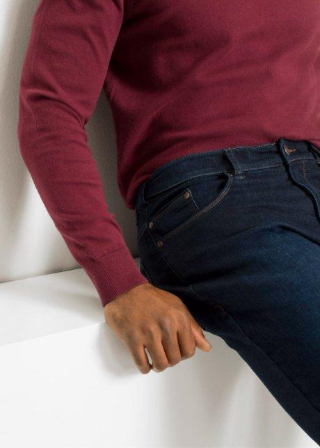 Jeans da uomo elasticizzati con cinta confortevole - Dark denim T.N. Pd2lV6s5