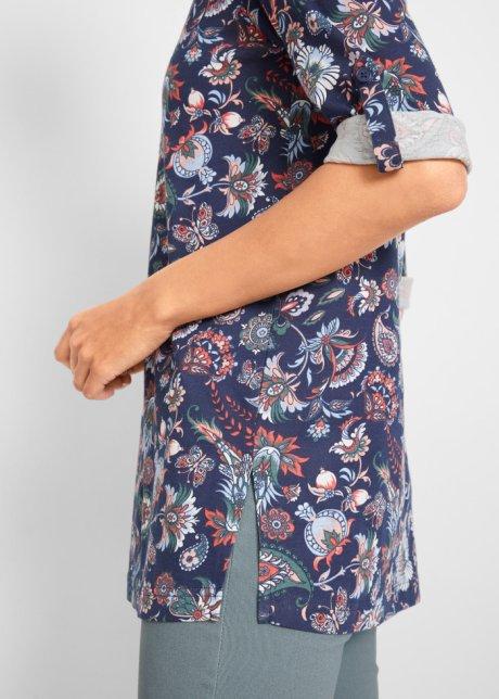 Maglia serafino Blu scuro / aragosta fantasia paisley - bpc bonprix collection ordina online - bonprix.it xXY4iqSs
