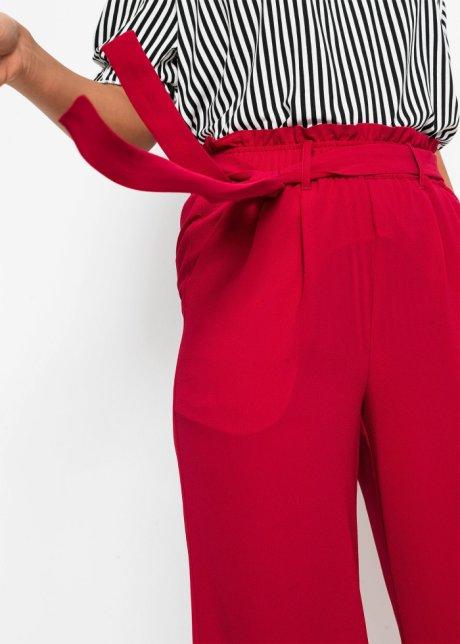 Pantaloni culotte con cinta elastica - Rosso scuro T.C. ZCy24QWW