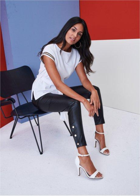 Pantaloni in similpelle Nero - BODYFLIRT - bonprix.it iL9f8lCX