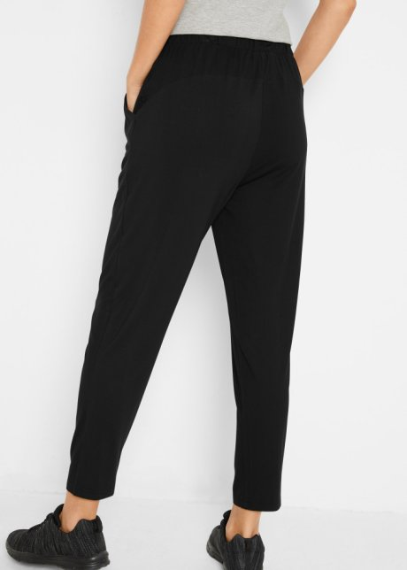 Pantaloni sportivi sostenibili cropped livello 1 Nero - Donna - bpc bonprix collection - bonprix.it bIwgugEs