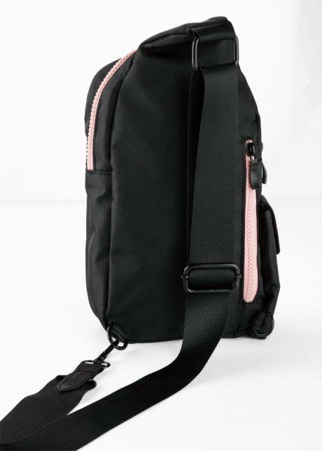 Zainetto trendy comodo da indossare - Nero BYM3Kvqq