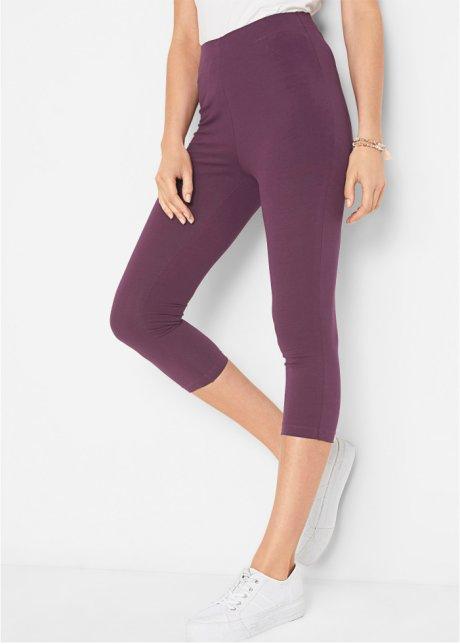 Leggings a pinocchietto piacevoli da indossare con cinta comoda - Viola bacca 7iE5iJ74