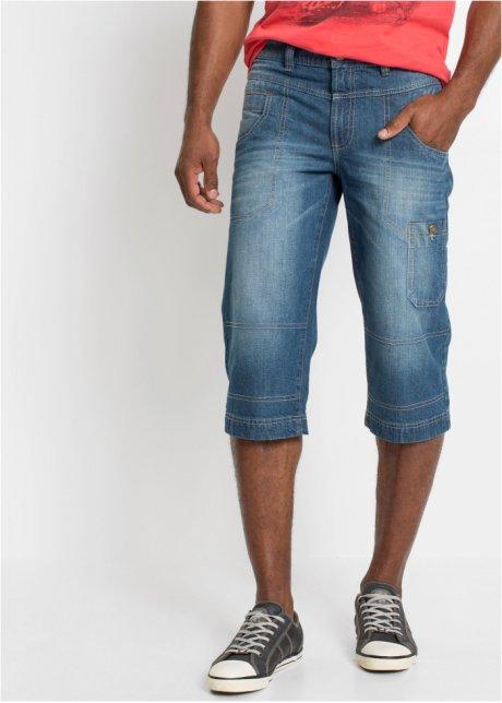 Jeans a pinocchietto ampi con tasche ed effetto stropicciato - Medium blu bleached T.N. T2ABHviV