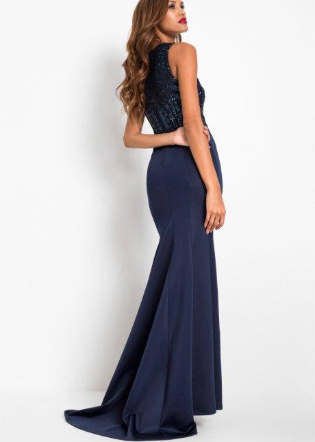 Abito con paillettes Blu scuro - BODYFLIRT boutique ordina online - bonprix.it icjejwfZ
