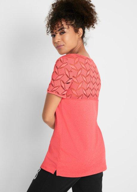 T-shirt sportiva Corallo melange - Donna - bpc bonprix collection - bonprix.it C5W4boKF