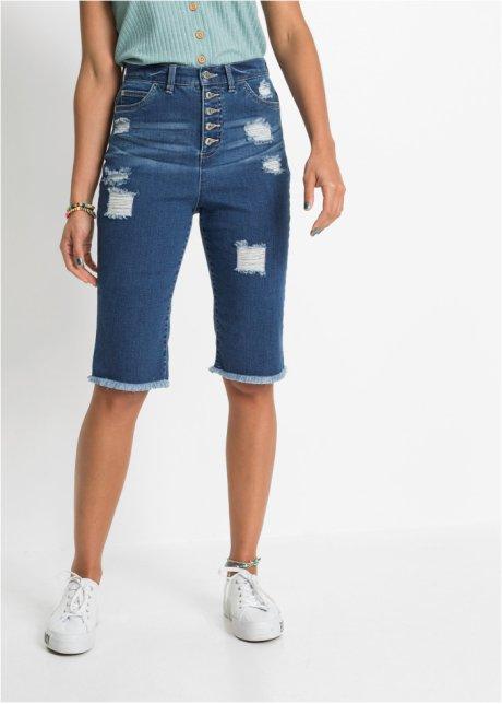 Shorts di jeans a vita alta Blu stone - RAINBOW ordina online - bonprix.it QegeUNde