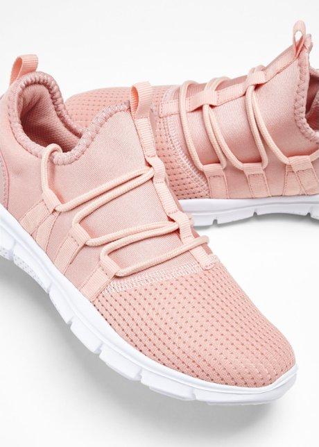 Sneaker sportive con allacciatura applicata - Rosa antico 92dit9aj